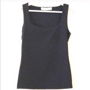 Zara Basic Scoop Neck Sleeveless Blouse